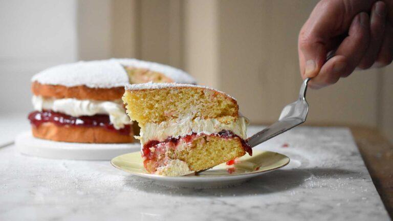 Recette du Victoria sponge cake